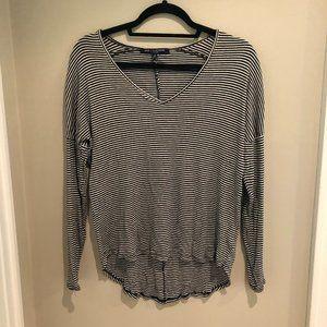 One Clothing Striped Long Sleeve Shirt